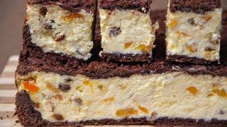✧ СЫРНИК С ИЗЮМОМ И КУРАГОЙ (в духовке) ✧ Cheesecake with raisins and dried apricots ✧ Марьяна