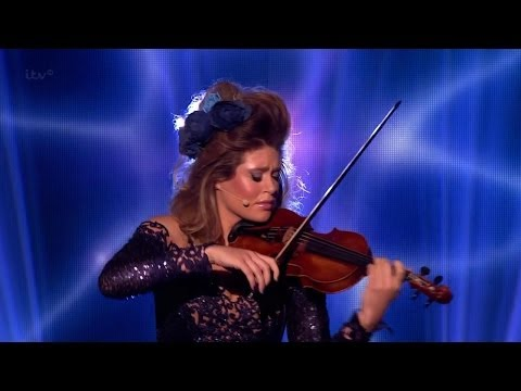 Britain's Got Talent Season 8 Finals Lettice Rowbotham Stunning Violinist