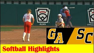 Dudley, Georgia vs Florence, South Carolina Softball Highlights, 2021 Little League World Series