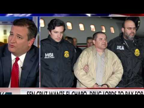 Ted Cruz scores MAGA points with border wall-funding 'El Chapo Act'