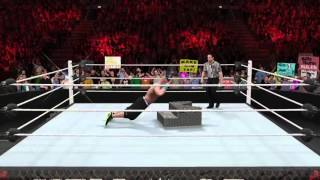 WWE2K16 - My planet needs me
