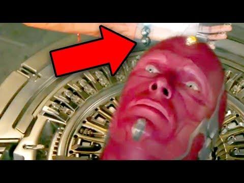 Infinity War - SHURI & BANNER SAVE VISION Scene Explained!