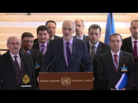 Syrian peace negotiations kick off in Geneva