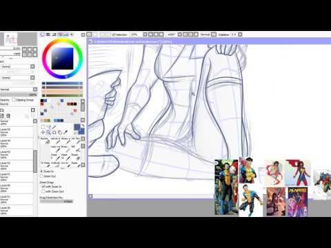 Artcast: Invincable and Ms. Marvel [Part 2]