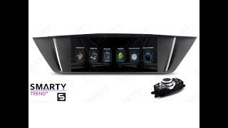 The SMARTY Trend head unit for BMW X1 E84.