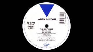 When In Rome - The Promise (12'' Single) [HQ Vinyl Remastering]