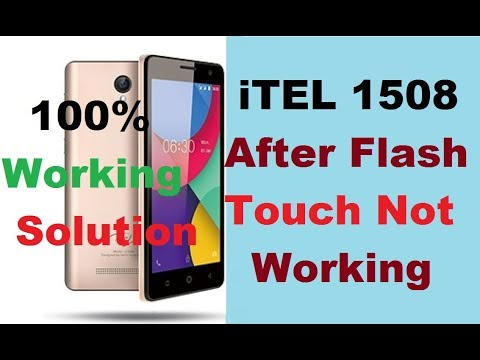 Itel 1508 Touch Not Working After Flash