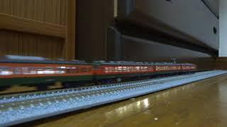 鉄道模型 115系新潟 走行シーン