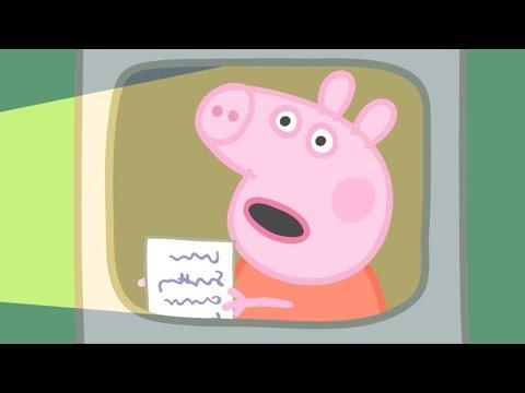 Peppa Pig Français La Lettre | Dessin Animé Pour Enfant