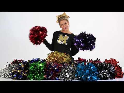 Cheerleading.com Metallic Poms