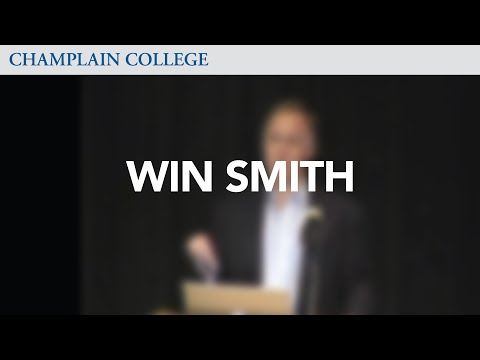 Win Smith: Speaking from Experience