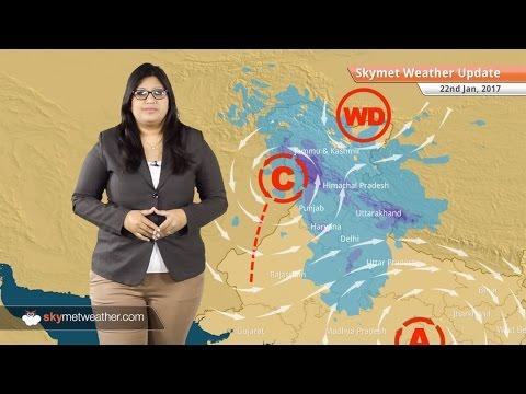 Weather Forecast for Jan 22: Rain and snow in Kashmir, Himachal, Uttarakhand, Rain in TN, Kerala