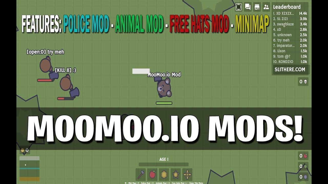 Moomoo Io Mods V4 Auto Heal Slither Io Game Guide