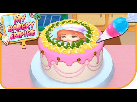 Fun Learn 3D Cake Cooking & Colors   My Bakery Empire  Bake Decorate & Serve Cakes Games For Kids