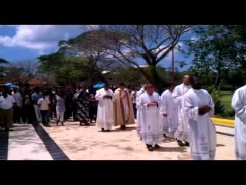 Entierro Luis Alberto en Cementerio San José
