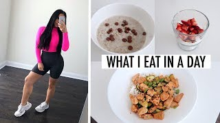 WHAT I EAT IN A DAY TO LOSE WEIGHT 2019