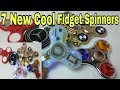 7 NEW Cool Fidget Spinners Broken All Fidget Spinner | Cheapest Fidget Spinner in Delhi | in Hindi