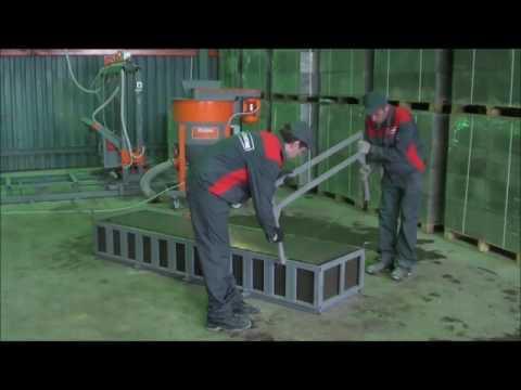 Производство неавтоклавных газобетонных блоков, цемент+песок+вода+химия