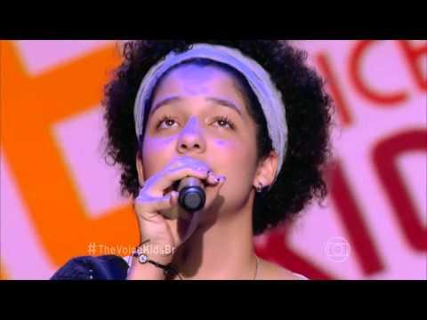 Lia Gomes canta 'Dona Cila' no The Voice Kids - Audições|1ª Temporada