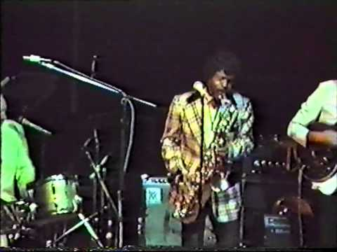 Chuck Higgins in london 1983 - PACHUKO HOP