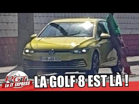 VW Golf 8 : La Patronne Enfin en Photos !! - PJT Express