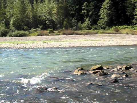 Sandy river fishing spot youtube for Sandy river fishing report