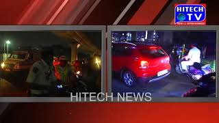 Hyderabad:Traffic police conduct Drunken drive operation