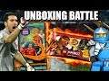 WM 2018 vs LEGO NINJAGO UNBOXING BATTLE!!!