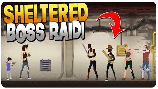 BUNKER RAID BY FIRST BOSS: COOTER! - Sheltered Game Update 1.7 (Mobile | PC)