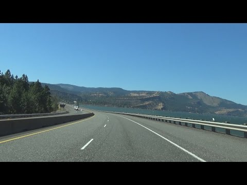 2K16 (EP 15) Interstate 84 in Oregon: The Columbia River Gorge