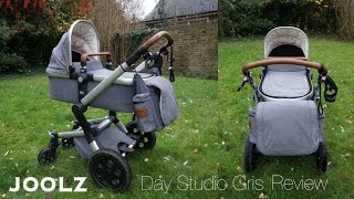 Обзор коляски JOOLZ DAY STUDIO GRIS review c люлькой