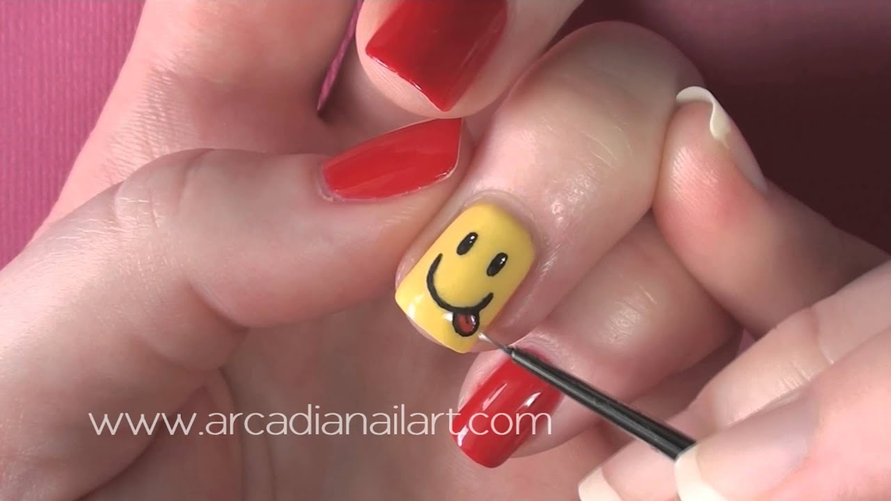 How to make smiley french manicure