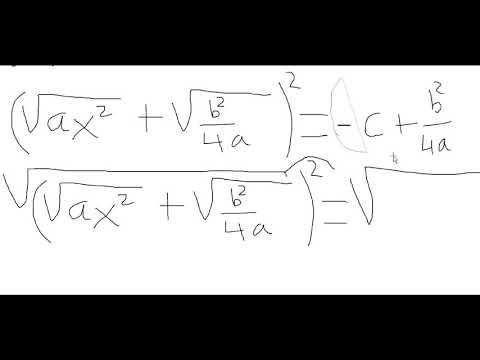 demostracion de la formula general de la ecuacion cuadratica