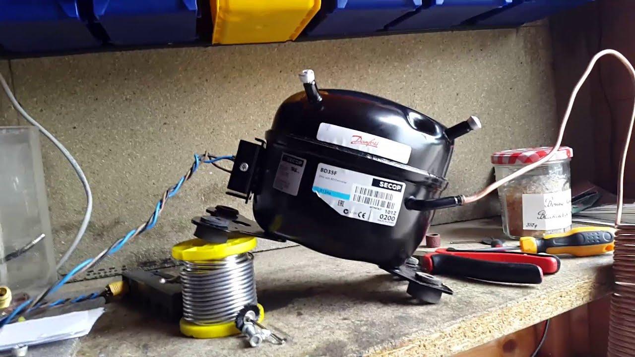 BD35F DC Compressor Test
