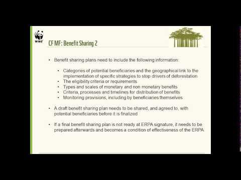 REDD+ Learning Session 22: Making Sense of the FCPF Carbon Fund's Methodological Framework