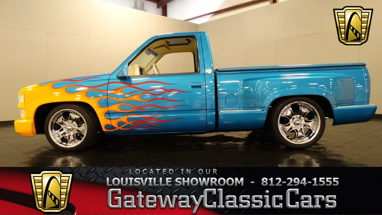 medium resolution of 1992 chevrolet silverado custom truck louisville showroom stock 881 youtube