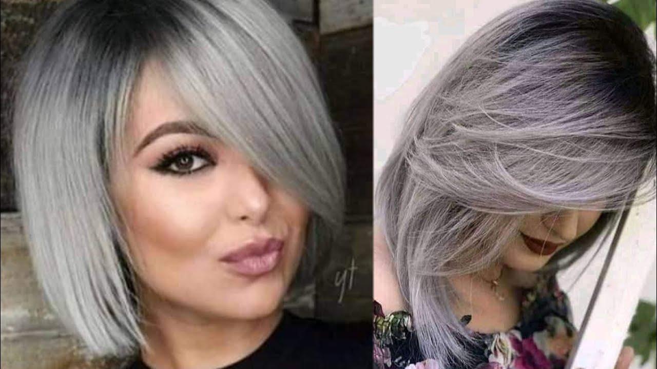 صبغ الشعر بلون رمادي بدون سلفر بصبغة لوغيات فقط معلومة جديدة وحصرية لون يهبببل Youtube