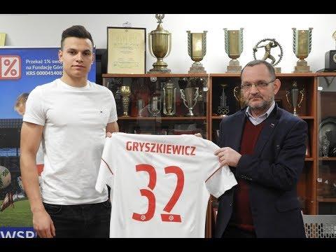 Adrian Gryszkiewicz piłkarzem Górnika Zabrze!
