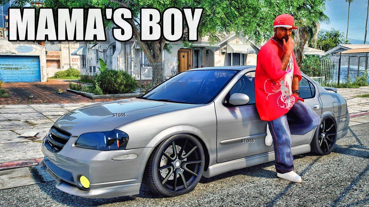 Download GTA 5 Mod Mama's Boy| Welcome Back!!!| GTA 5 PC Real Life Mods IRL| 4K