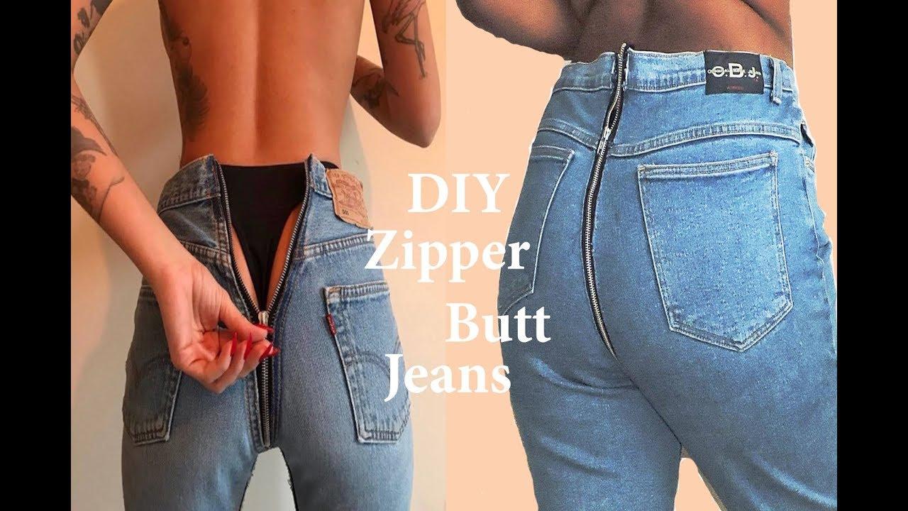 teen butt in jeans