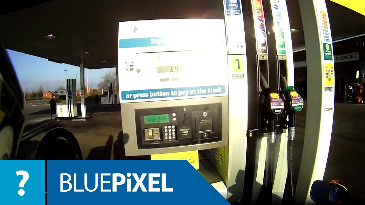 Locked fuel pumps - YouTube
