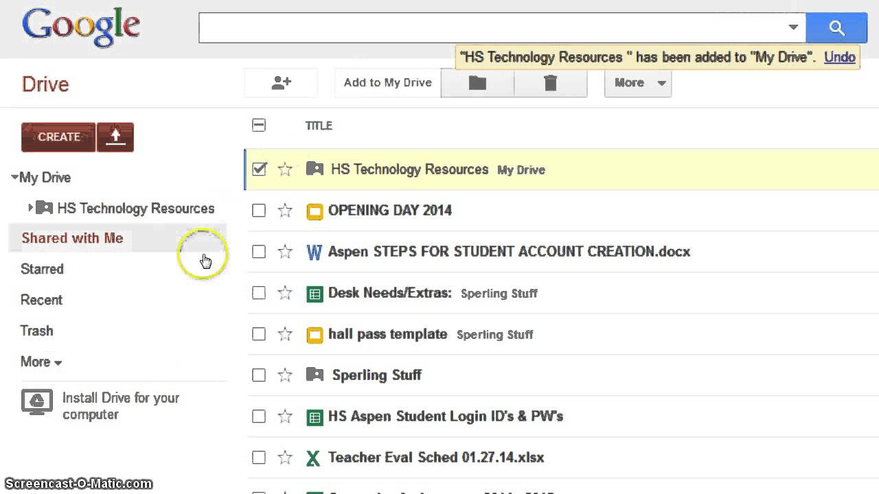 Hs Tech Resources Gif Youtube