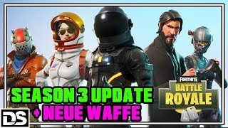 Fortnite Battle Royale English PS4 - Saison 3 Battle Pass Update - New Weapon (Fornite Gameplay)