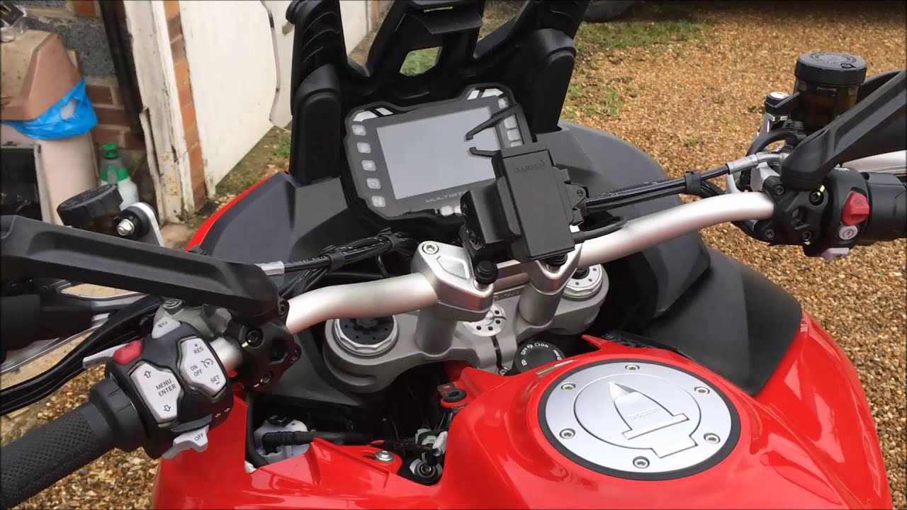 multistrada sat nav gps cable finding and fitting youtube rh youtube com Ducati Hypermotard Ducati Monster 696