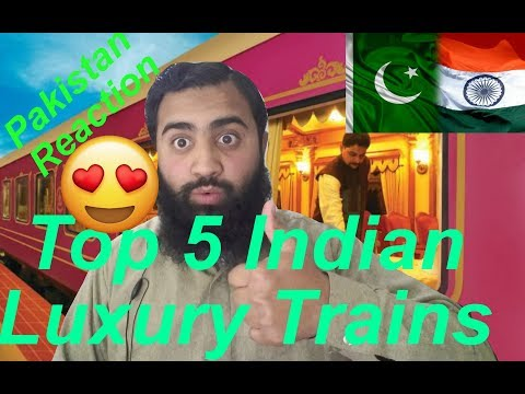 Pakistan React on Top 5 India's Luxury Trains | AS Reactions