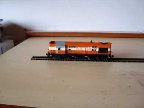 Indian railways WDM2 model