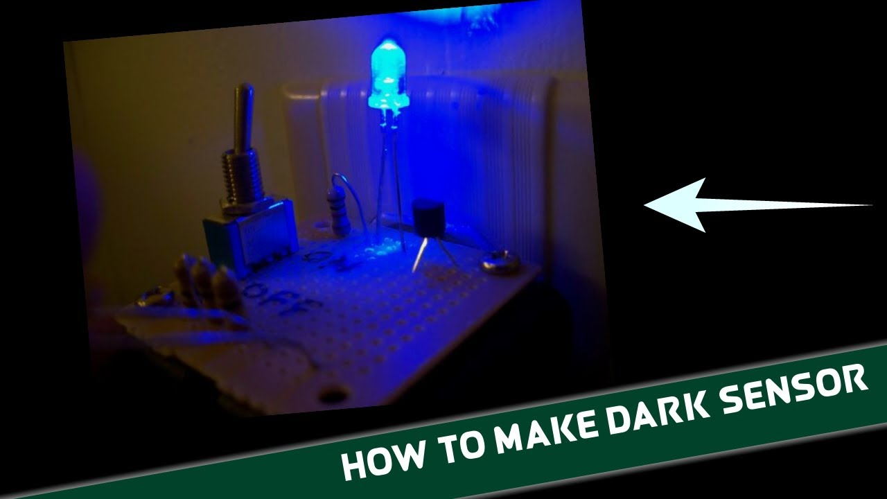 Simple and Cheap Dark-Detecting LED Circuit Using LDR | Wow Electric ...
