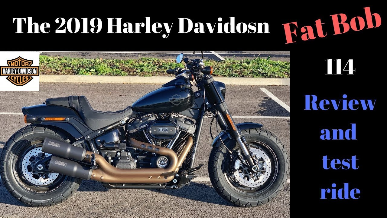 2019 Harley Davidson Fat Bob 114 test ride and review ...