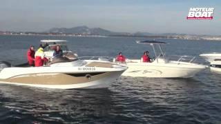 MAKING OF Comparatif day-cruiser et sun deck - moteurboat.com