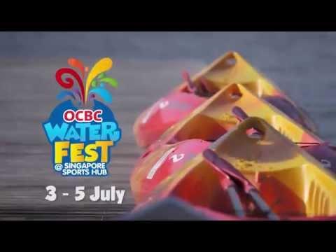 OCBC WaterFest @ Singapore Sports Hub 2015